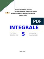 INTEGRALES  CAAEZ