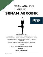 Laporan Olahraga Analisis Gerak SENAM AEROBIK