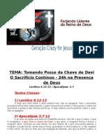 Estudo 24h Primicias -A Chave de Davi