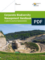 Corporate Biodiversity Management Handbook