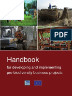 Handbook for developing and implementing biodiversity project