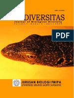 Biodiversitas - Journal of Biological diversity