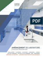 conception et aménagement de laboratoire