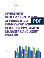 Investment Research Valuation (CFA)