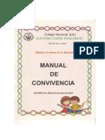 MANUAL DE CONVIVENCIA COLEGIO NACIONAL ALFONSO LÓPEZ PUMAREJO DE RÍO DE ORO, CESAR