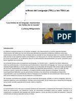 Autismodiario.org-Los Trastornos Específicos Del Lenguaje TEL y Los TEA Las Diferencias Implícitas