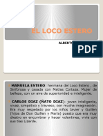 Ppt El Loco Estero