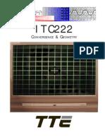 Rca g e Chasis ITC222 _training Convergence