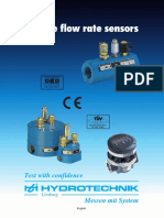 Volume Flow Rate Sensors Anexo