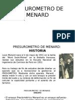 Presurometro de Menard-dinam. Suelos