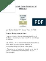 Capacidad Emocional en El Trabajo - Resumen Ferrel Infante