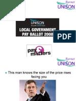 Barnet UNISON Pay Matters 2008