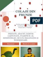 Colaje Din Frunze