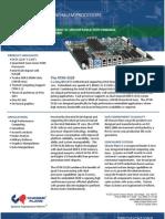 ATXN-520 High Performance Long Life Nehalem EATX Industrial Motherboard Datasheet
