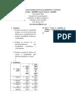 Pruebas de Caracterización de Aldehídos y Cetonas