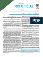 Diario oficial de Colombia n° 49.946. 26 de julio de 2016