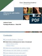 Enderecamento IP - Sub-redes v1.1 Com Sumarizacao