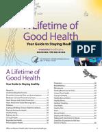 A Lifetime of Good Health