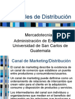 13 Canales de Marketing