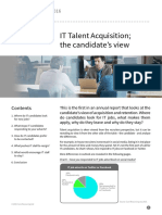 Report Talent Acquisition Candidates View 2016