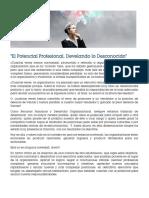 Potencial Ejecutivo - Develando Lo Desconocido