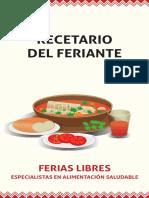 Libro Comida Chilena - Recetario Del Feriante