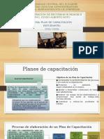 Planes de Capacitación