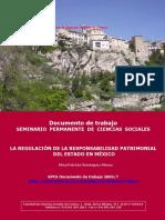 Antecedentes de La Responsabilidad Patrimonial