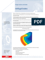 Centrifugal clutches and brakes