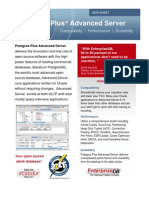 Postgres Plus Advanced Server Datasheet