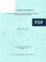 Tibetan Yoga and Mysticism - A Textual Study of the Yogas of Naropa and Mahamudra Meditation in the Medieval Tradition of Dags Po
