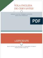 Analisis Literario-la Española Inglesa