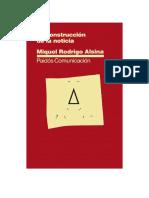 Rodrigo Alsina Miquel - La-Construccion-De-la-Noticia (Editado Para Alumnos)