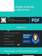 patient safety and quality care