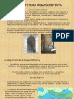 A Arquitetura Renascentista- Aula 01_r01