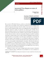 Republica o Democracia Sebastian Torres