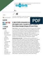 Giuseppe Di Giugno e Il Processore 4B