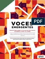 Voces Emergentes Percepciones Sobre La Calidad de Vida Urbana en America Latina y El Caribe