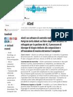 Giuseppe Di Giugno e Il Processore 4Ced