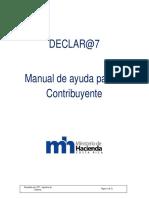 Manual de Uso de La Herramienta Declar@7