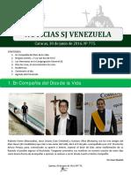 Noticias SJ Nº 775