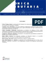 La Aplicación Del Régimen de Estimación Indirecta Por Anomalías Contables - Calvo Vérgez