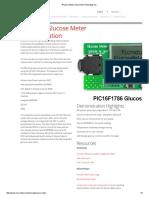 Glucose Meter _ Microchip Technology Inc