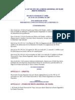 Ds.- 29400 de 29-12-2007 Reglamento a La Ley No 3791 de La Renta Universal de Vejez