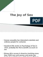 Sexuality, Gender Identity Etc