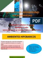 HIPOBARISMO-HIPERBARISMO MICROGRAVEDAD