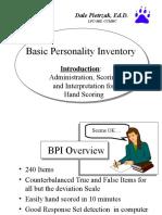BPI Interpretation