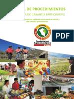 Manual de Procedimiento - SISTEMA DE GARANTÍA PARTICIPATIVO
