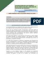 Justificación Secuencia Didáctica - Chelia - Dal Buoni - Pehuajó