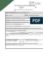 Formato de Reporte Demi Serviciocomunitario